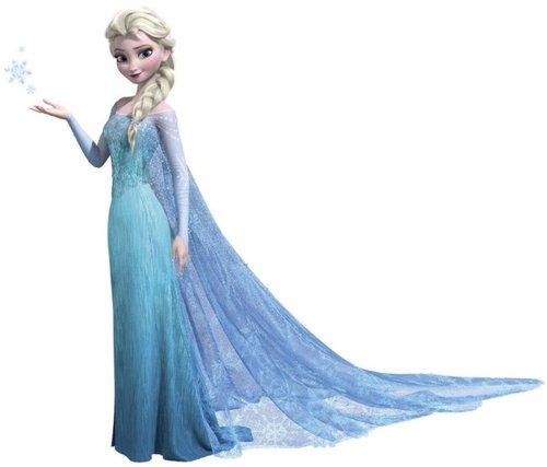 Elsa în bleu