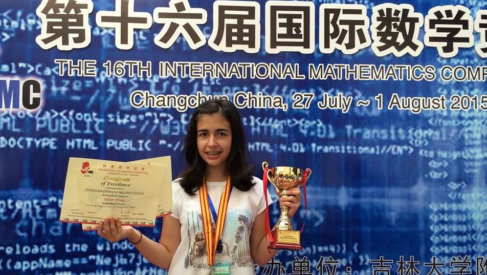 Mădălina Constantinescu-International Mathematics Competition