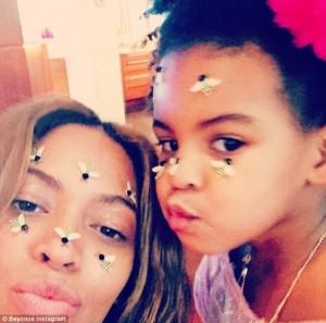 Beyonce si Blue