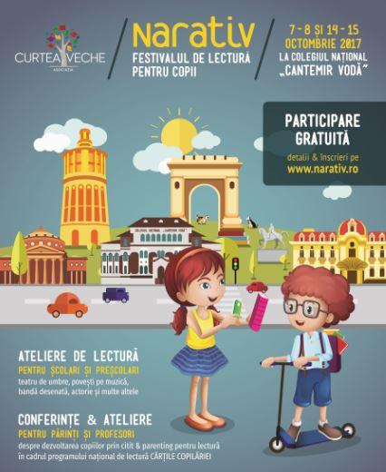 NARATIV - Festival de lectură pentru copii