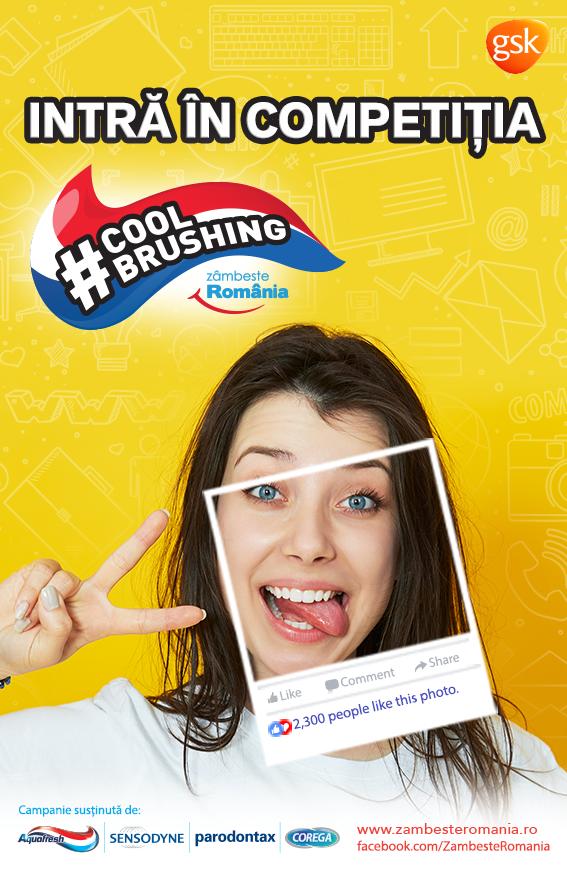 Cool Brushing- Zâmbește România