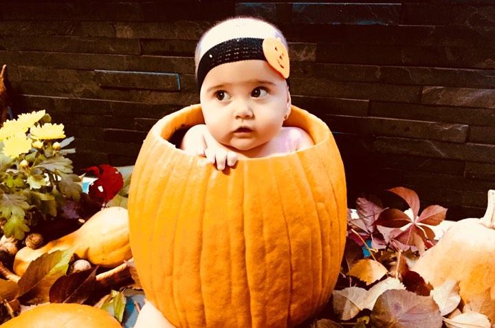 Dovleac de Halloween - Halloween pentru copii - Tiffany Maria