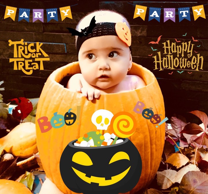 Trick or Treat! Halloween Baby - Tiffany Maria. jpg