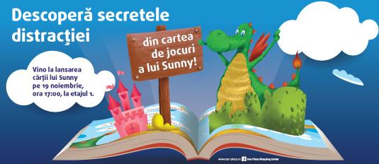 Lansare-carte-Sunny_Descopera secretele distracției - Sun Plaza Mall