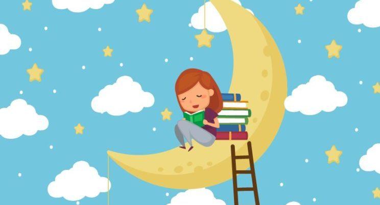 Povești personalizate - Fetita-care-se-legana-pe-luna- Cristina Guraliuc