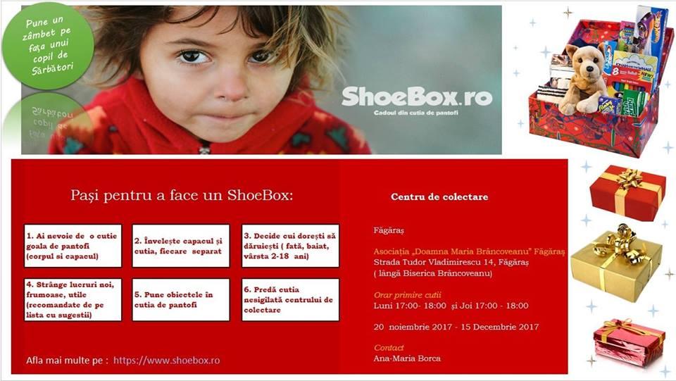 ShoeBox cadoul din cutia de pantofi - Ana Borca - Iia Călătoare